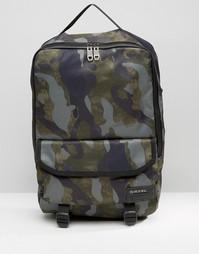 Рюкзак с камуфляжным принтом Diesel - Зеленый
