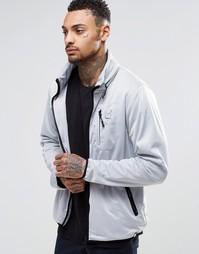 Куртка на молнии с отделкой декоративным кантом Your Own - Серый
