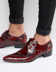 Туфли на каблуке с отделкой D-кольцом Jeffery West Adam Ant - Красный