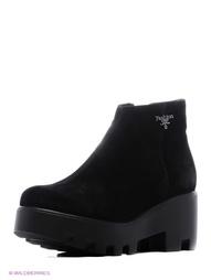 Черные Ботинки Makfly