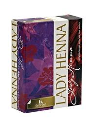 Краски для волос Lady Henna