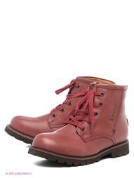 Красные Ботинки Makfly