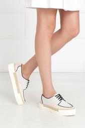Кожаные ботинки Espa Cupsole Lace Up Msgm