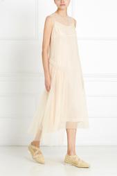 Однотонное платье Simone Rocha