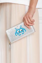 Кожаный кошелек Space Invader Anya Hindmarch