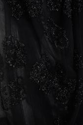 Полупрозрачное пальто с вышивкой Simone Rocha