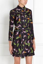 Шелковое платье Gucci