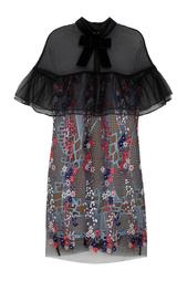 Платье с вышивкой Self Portrait