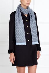 Однотонная шаль Gucci