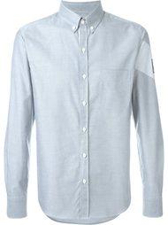 рубашка с воротником на пуговицах Moncler Gamme Bleu