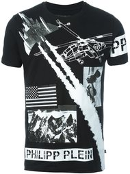 футболка с принтом 'Air Force' Philipp Plein