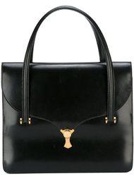 сумка-тоут с откидным клапаном Hermès Vintage