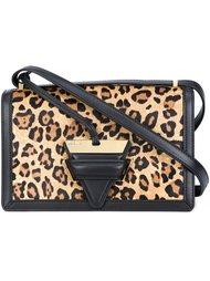 леопардовая сумка на плечо Loewe