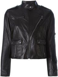укороченная байкерская куртка  Marc Jacobs