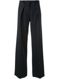 брюки в мелкую полоску  Victoria Victoria Beckham