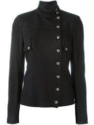 куртка со смещенной застежкой Chanel Vintage
