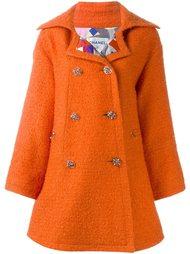 объемное пальто Chanel Vintage