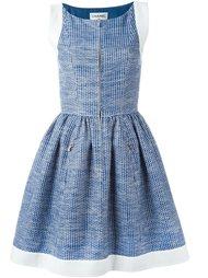 платье с расклешенной юбкой Chanel Vintage