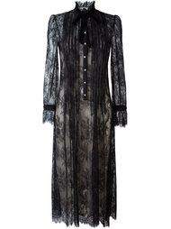прозрачное кружевное платье  Philosophy Di Lorenzo Serafini
