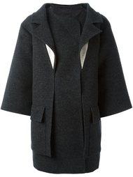 пальто свободного кроя Chanel Vintage
