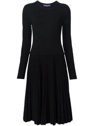 платье миди Ralph Lauren Black