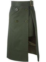 layered midi skirt Sacai