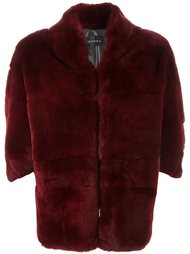 короткое меховое пальто Plein Sud