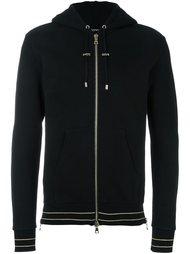 classic zip-up hoodie Balmain
