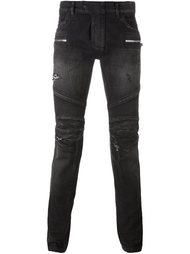 biker jeans Balmain