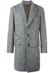 пальто в ломаную клетку Brunello Cucinelli