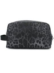 косметичка с леопардовым узором Dolce & Gabbana
