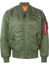 классическая куртка-бомбер  Alpha Industries