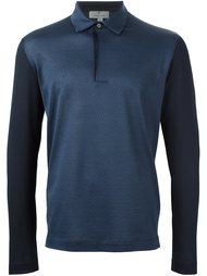 long sleeve polo shirt Canali