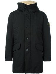 hooded padded jacket Stone Island