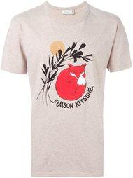 футболка 'Dan-Ah Kim Fox'  Maison Kitsuné