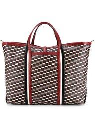 сумка-тоут с геометрическим принтом Pierre Hardy
