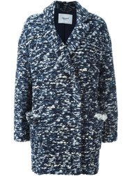двубортное пальто Blugirl