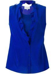 блузка с оборками Maison Margiela