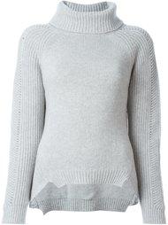 свитер с отворотом Blugirl