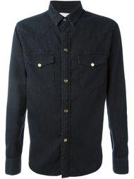 джинсовая рубашка Palm Angels