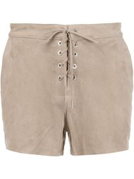 lace-up front shorts Rag & Bone /Jean