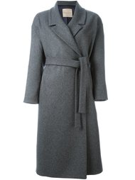 belted trench coat Erika Cavallini