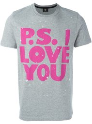 футболка 'PS I love you'  PS Paul Smith