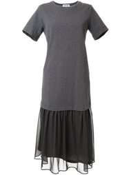 ruffled shift dress Muveil