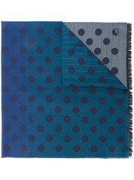 dotted print scarf PS Paul Smith