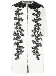 пальто с вышивкой-макраме Antonio Marras
