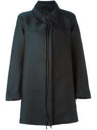 пальто А-образного силуэта Giorgio Armani