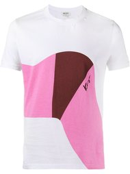 футболка с абстрактным принтом Kenzo