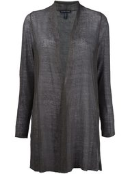 semi-sheer cardigan Eileen Fisher