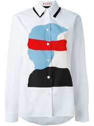 рубашка с принтом Ekta Marni
